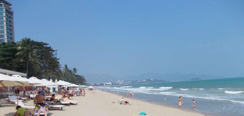 Beach gegenüber dem Sheraton