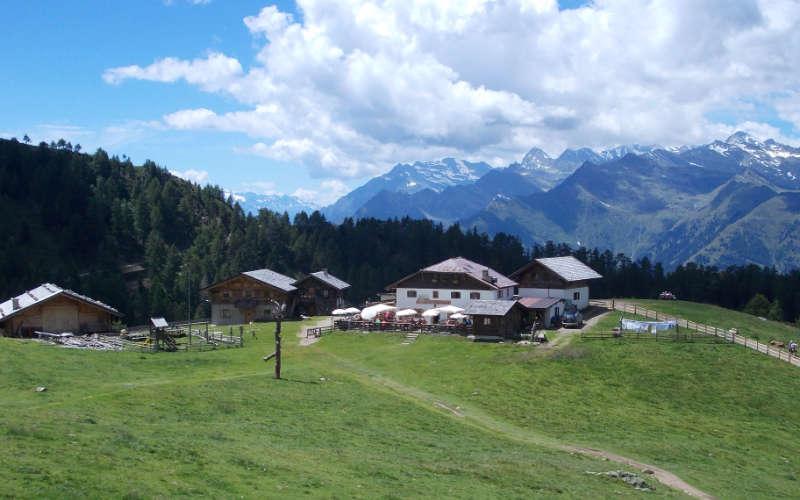 Die Harzer Hütte von oben