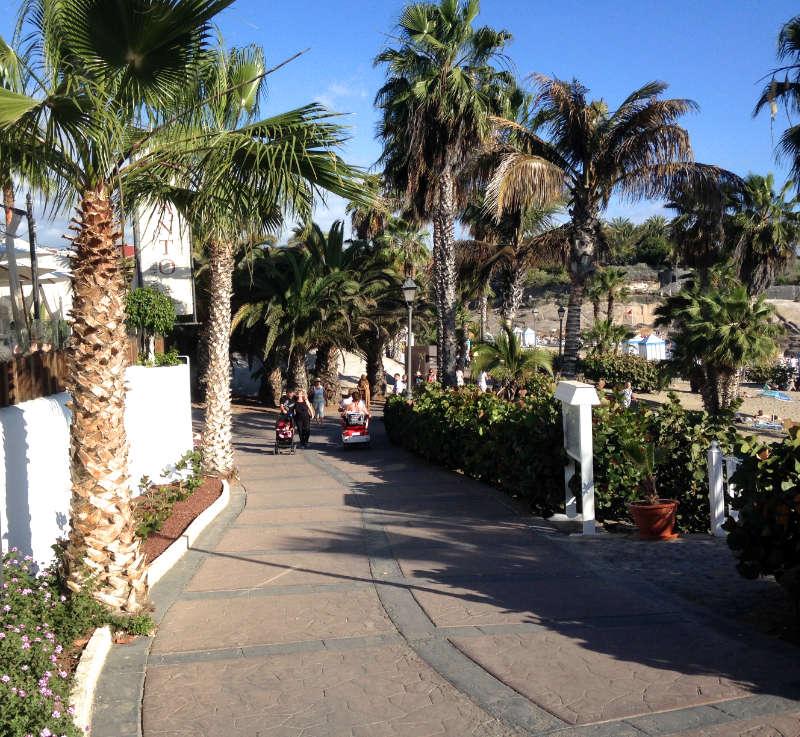 Die schöne Promenade
