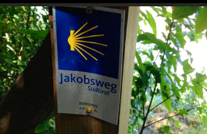 Der südtiroler Jakobsweg