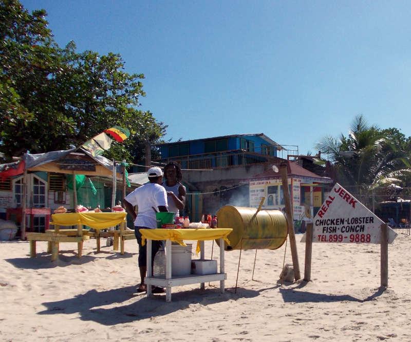 Spezialitäten am Beach