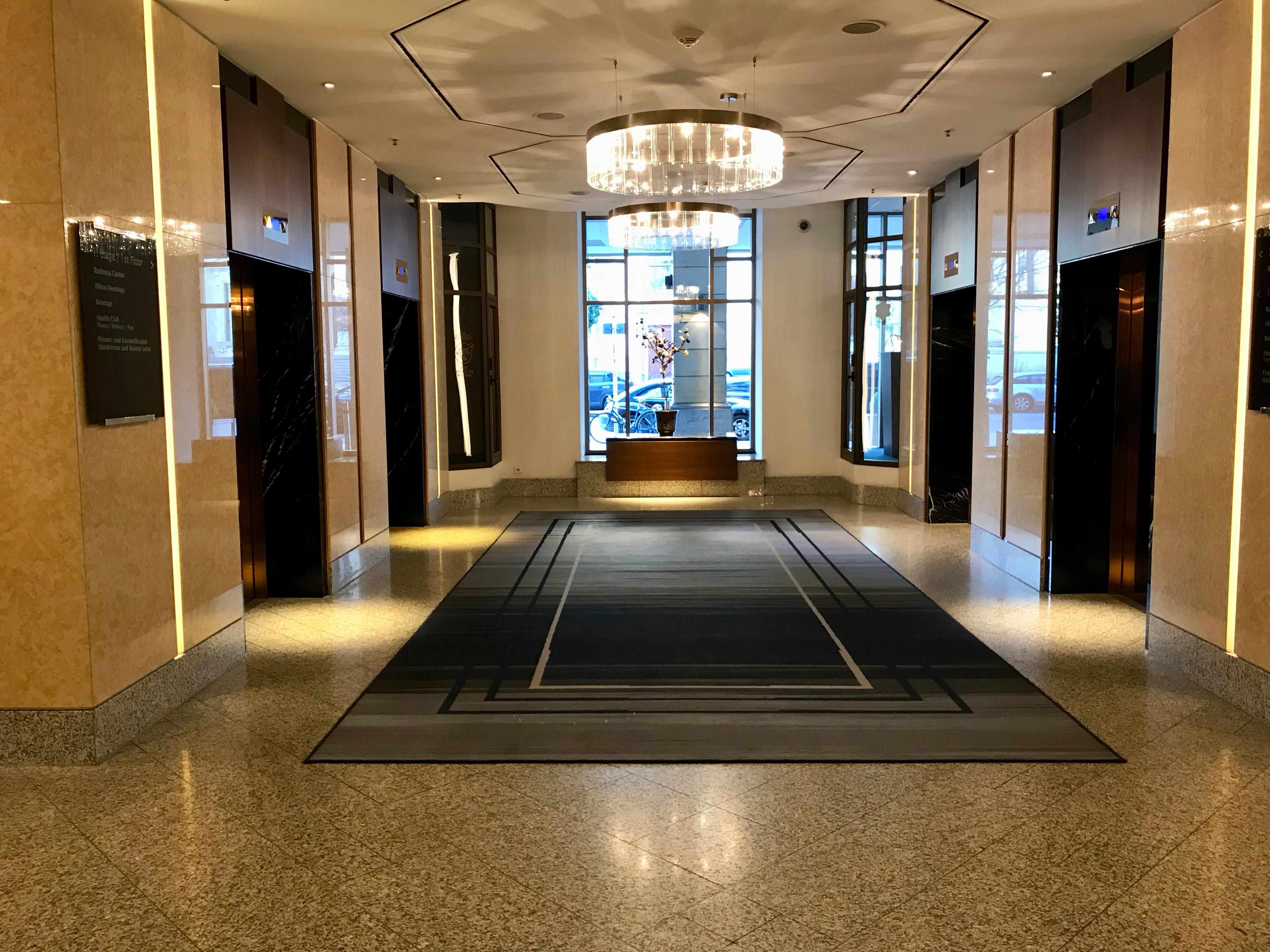 Berlin Hilton Hotel Pretty Living